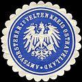 Siegelmarke Amtsvorsteher zu Velten Kreis Osthavelland W0224225.jpg