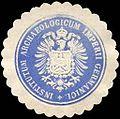 Siegelmarke Institutum Archaeologicum Imperii Germanici - Deutsches Archäologisches Institut W0223237.jpg
