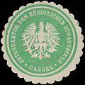 Siegelmarke Intendantur der Königlichen Schauspiele Cassel W0338482.jpg