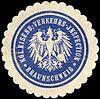 Siegelmarke Königliche Eisenbahn - Verkehrs - Inspection - Braunschweig W0214129.jpg