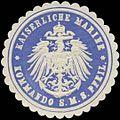 Siegelmarke K. Marine Kommando S.M.S. Pfeil W0379215.jpg