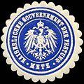 Siegelmarke Kaiserliches Gouvernement der Festung - Metz W0238123.jpg