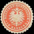 Siegelmarke Stations-Kontroleur in Harburg W0361686.jpg