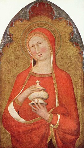 «Мария Магдалина», картина неизвестного художника сиенской школы, конец XIV века