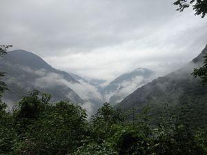 Sierra Madre Oriental - The Sierra Madre Oriental in Hidalgo state.