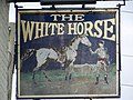 Sign for the White Horse, Quidhampton - geograph.org.uk - 906776.jpg