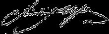 Porträt Friedrich WilhelmsIII. von Ernst Gebauer nach einem Gemälde François Gérards. Friedrich Wilhelms Unterschrift: (Quelle: Wikimedia)