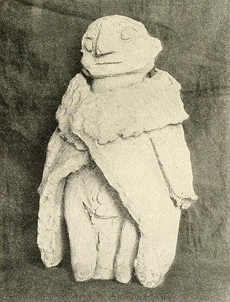 Domovoy - Image: Silesian Domovoy statuette (2)