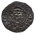 Silver penny of William II (YORYM 2000 2062) obverse.jpg
