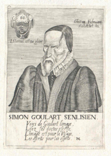 Simon Goulart French theologian