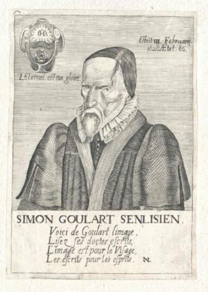 Simon Goulart - Image: Simon Goulart (ÖNB)