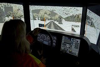Simulation cockpit