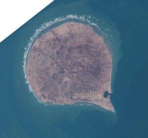 Sir Abu Nu'ayr - ISS image