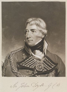 Sir John Doyle, 1st Baronet British Army general