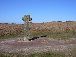 Forest of Dartmoor - Nun's Cross, one of the boundary markers of the Forest