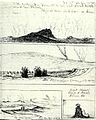 Sketches from the Volcano House visitors book, 1881, by Joseph Nawahi.jpg