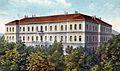 Skopje, Ucitelska skola na razglednica, 1928.jpg