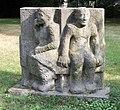 Skulptur Rathausstr 10 (Liber) Erben der Spartakuskämpfer Emerita Pansowová 1987 1.jpg