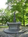 Skulptur Skogsråfontänen, Kungsparken (granit). Ivar Johnsson.JPG