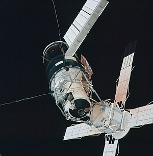 Space station - The U.S. Skylab station of the 1970s