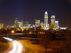 Skyline of Charlotte, North Carolina (2005)