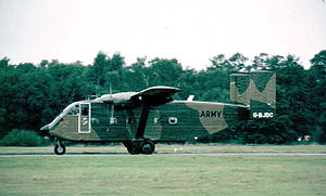 Short SC.7 Skyvan - Company military demonstrator in 1982