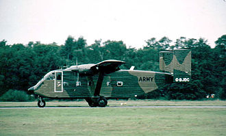 Short SC.7 Skyvan - Company military demonstrator in 1982