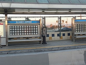 Harbor Transitway - Image: Slauson Silver Line Station 12