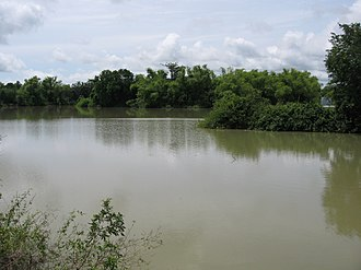 Banteay Meanchey Province - Small lake in Serei Saophoan.