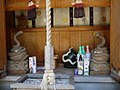 Small shrine for the White Snake God, a messenger of goddess Benzaiten. 白巳大神.jpg