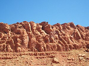 Snow Canyon State Park - Red rock formations add to the beauty of the canyon.