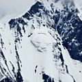 Snow Covered Mountain with Panther face.jpg