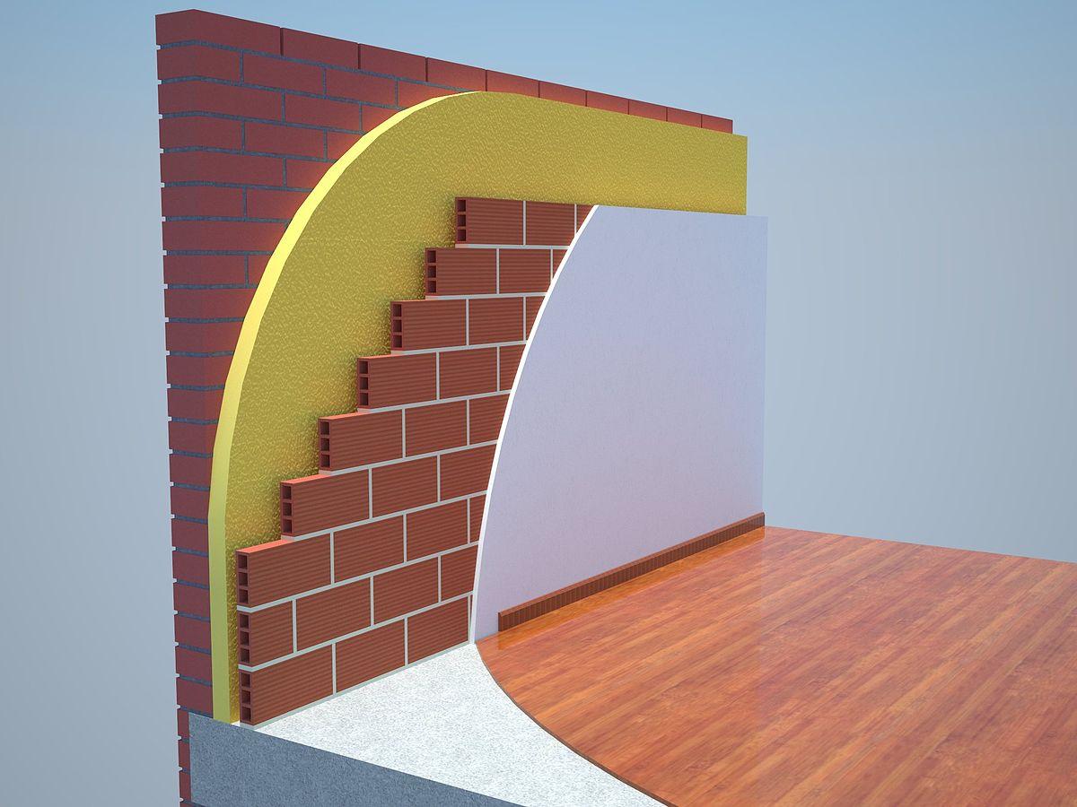 Poliuretano proyectado wikipedia la enciclopedia libre - Aislamiento de paredes ...