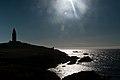 Sol de Poniente - Sombra de la Torre de Hércules.jpg