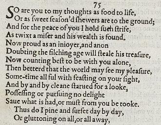 amoretti sonnet 34 summary