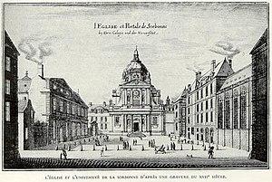 La Sorbonne, Paris, au 17° siécle