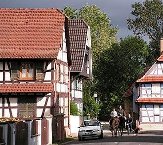 Souffelweyersheim - Half-timbered houses