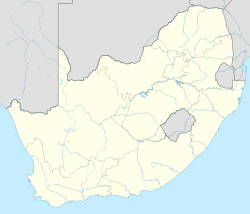 Jiji la Pretoria is located in Afrika Kusini
