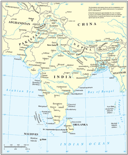 Map Of The South Asia.South Asia Wikipedia
