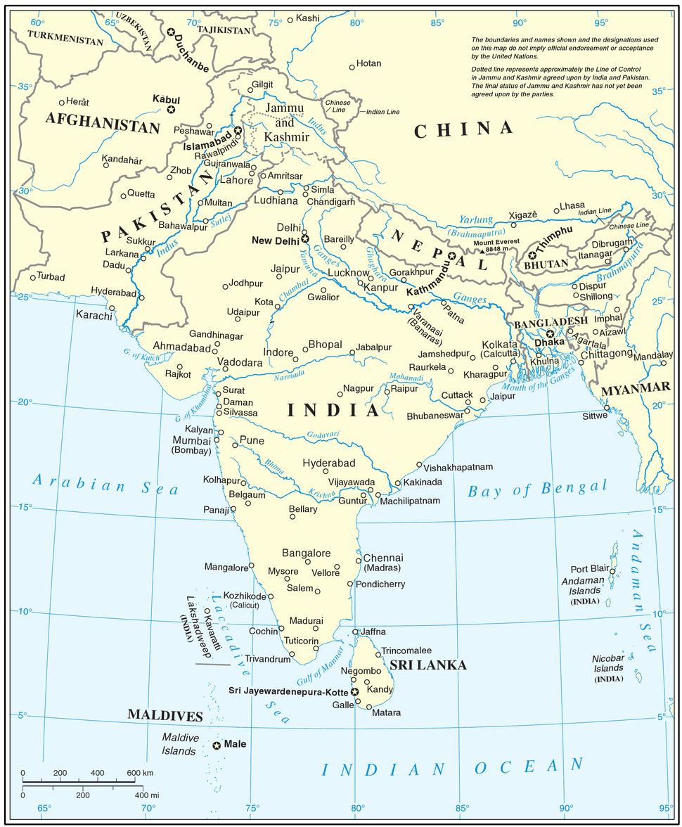 South Asia UN
