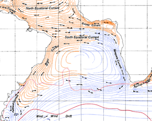 Benguela Current - Benguela Current in the South Atlantic Gyre