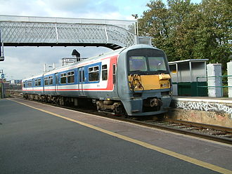 British Rail Class 456 - The Class 456s were delivered in Network SouthEast livery