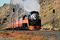 Southern Pacific 4449, Deadheading Eastward at Maryhill, WA.jpg