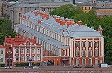 Doze Collegia do que era então Petrogrado State University