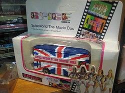 Spice Girls Bus - Museum Depot - London Transport Museum Open Weekend March 2012 (6971235757).jpg