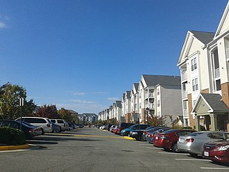 Springfield, Virginia - Apartment complex in Springfield