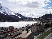 St. Moritz with Lake St. Moritz