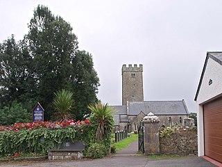 St Florence village in United Kingdom