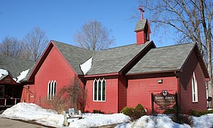 National Register of Historic Places listings in Monroe County, Wisconsin - Image: St John Episcopal Sparta WI