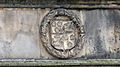 St Andrews - King James Library - coats of arms on the facade 08.JPG